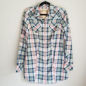 Guess studded shirt blouse